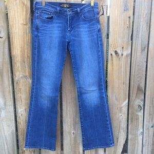 Lucky Brand Jeans Bootcut Sweet N Low Size 4